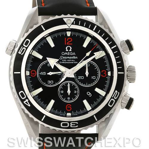Photo of Omega Seamaster Planet Ocean Chronograph Mens Watch 2910.51.82