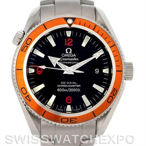 Photo of Omega Seamaster Planet Ocean Orange Bezel 42.0 mm Watch 2209.50