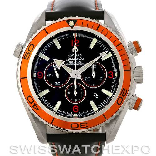 Photo of Omega Seamaster Planet Ocean Chronograph Mens Watch 2918.50.82