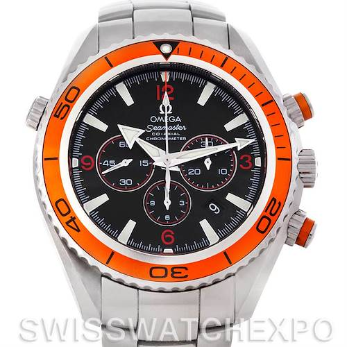 Photo of Omega Planet Ocean XL Seamaster Chrono Mens Watch 2218.50.00