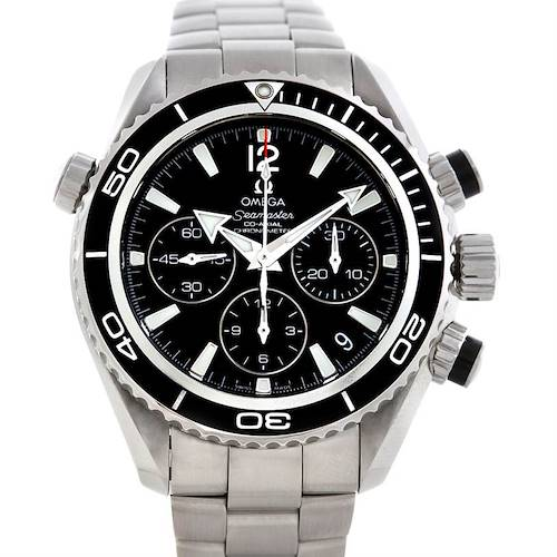Photo of Omega Seamaster Planet Ocean Chronograph Watch 22230385001001