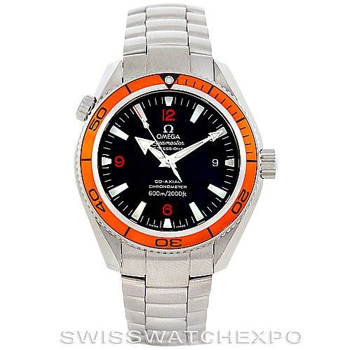 5975 Omega Seamaster Planet Ocean Men's Watch 2209.50.00 SwissWatchExpo