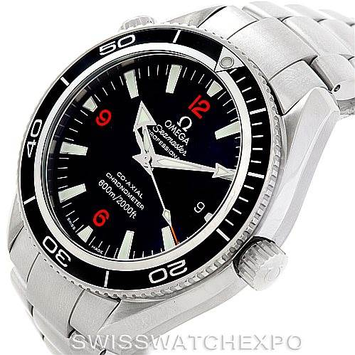 7044 Omega Seamaster Planet Ocean Mens Watch 2201.51.00 Unworn SwissWatchExpo