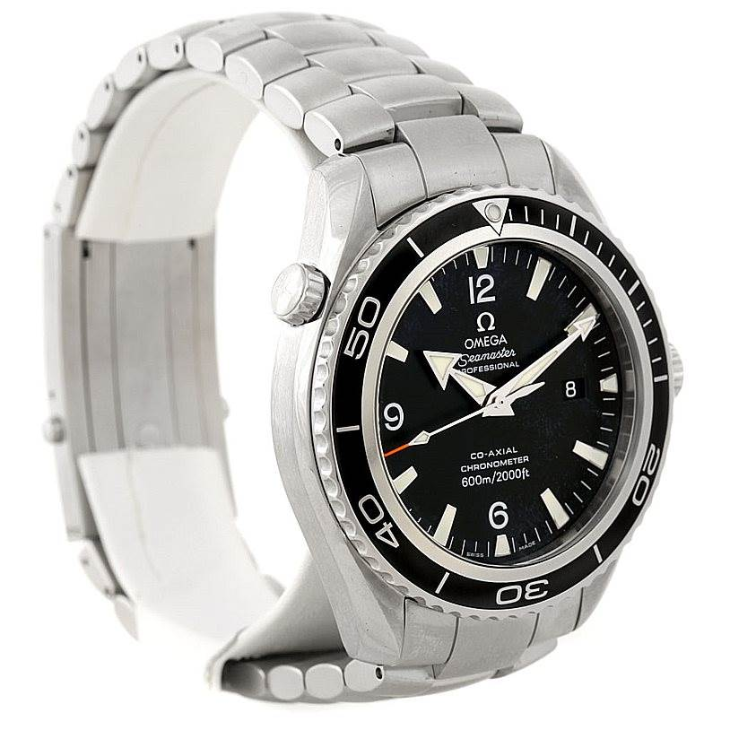 7887 Omega Seamaster Planet Ocean XL Mens Watch 2200.50.00 SwissWatchExpo