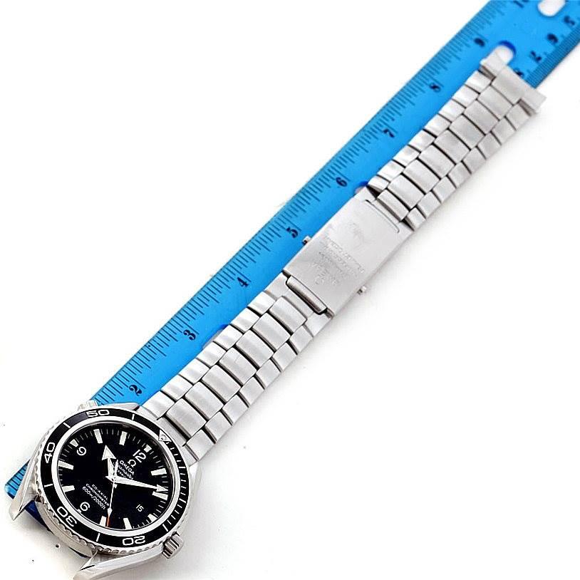 7887 Omega Seamaster Planet Ocean XL Mens Watch 2200.50.00 SwissWatchExpo