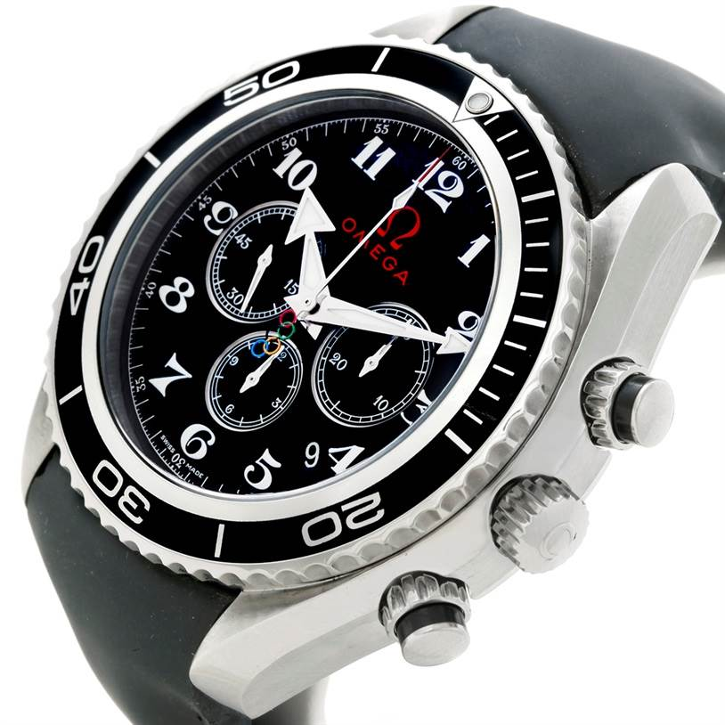 Omega Seamaster Planet Ocean Olympic Watch 222.32.46.50.01.001