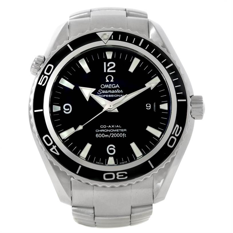 8760 Omega Seamaster Planet Ocean XL Mens Watch 2200.50.00 SwissWatchExpo