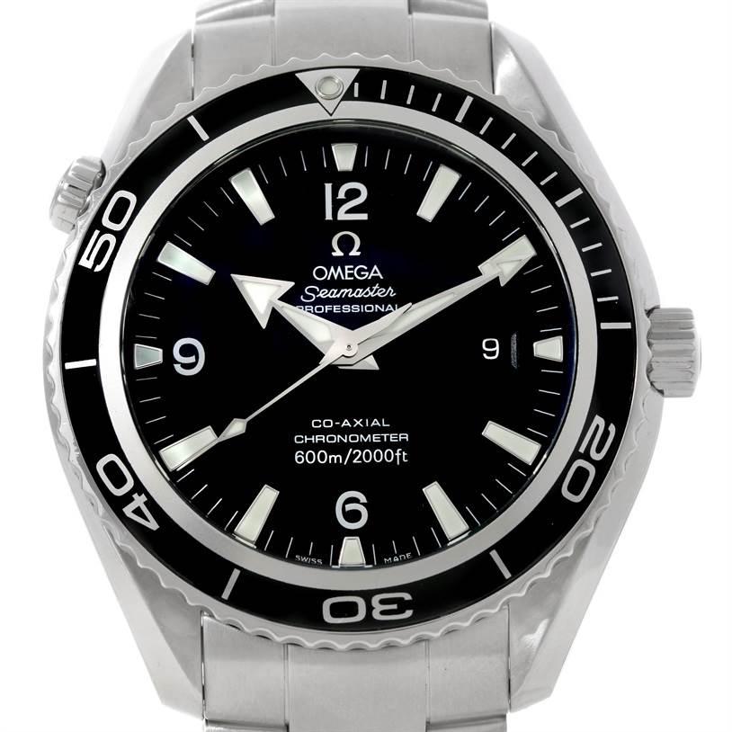 omega seamaster planet ocean xl mens watch. Black Bedroom Furniture Sets. Home Design Ideas