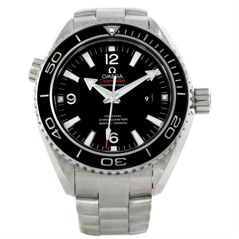 9271 Omega Seamaster Planet Ocean 600m Co-axial Watch 232.30.38.20.01.001 SwissWatchExpo