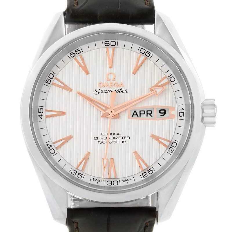Omega Aqua Terra 150m Annual Calendar Watch 231.13.43.22.02.002 SwissWatchExpo