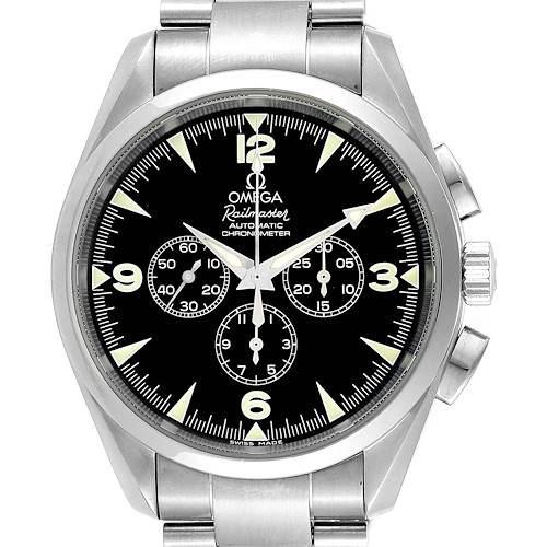 Photo of Omega Aqua Terra Railmaster Mens Chronograph Watch 2512.52.00 Papers