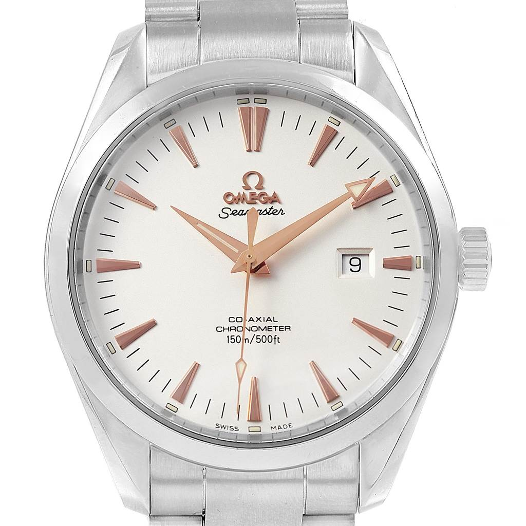 05294626c4071 ... 18135 Omega Seamaster Aqua Terra Mens Steel Watch 2502.34.00 Box Papers  SwissWatchExpo ...