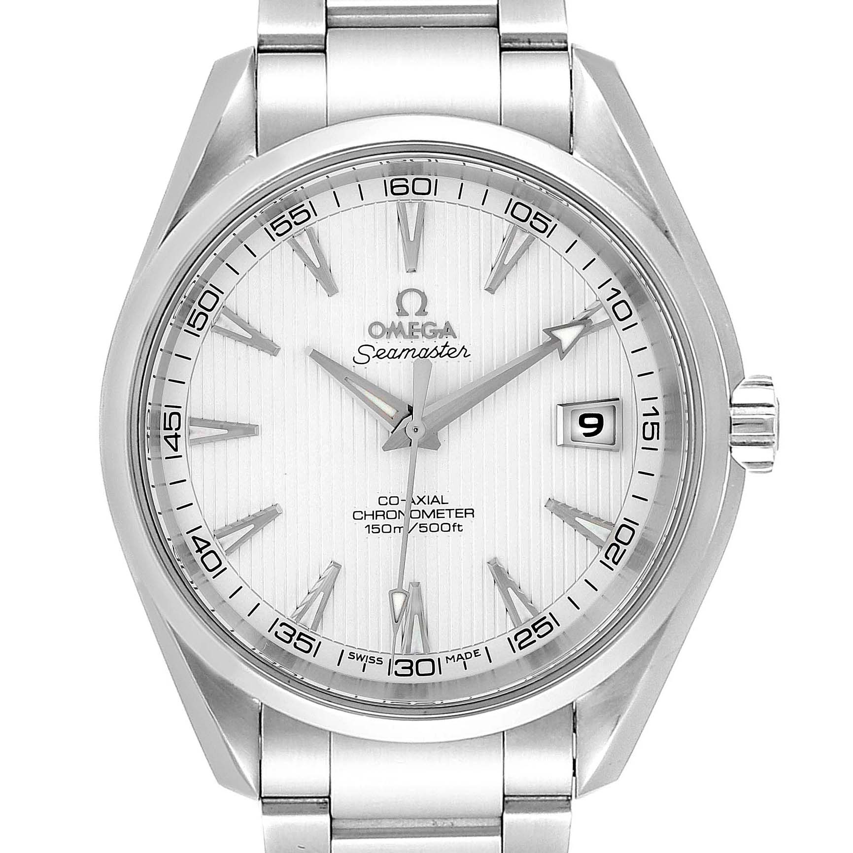 Omega Seamaster Aqua Terra Co-Axial Steel Watch 231.10.42.21.02.001