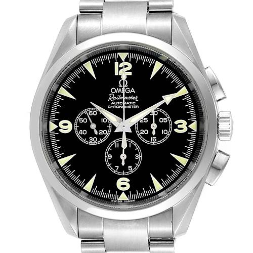 Photo of Omega Aqua Terra Railmaster Steel Mens Chronograph Watch 2512.52.00