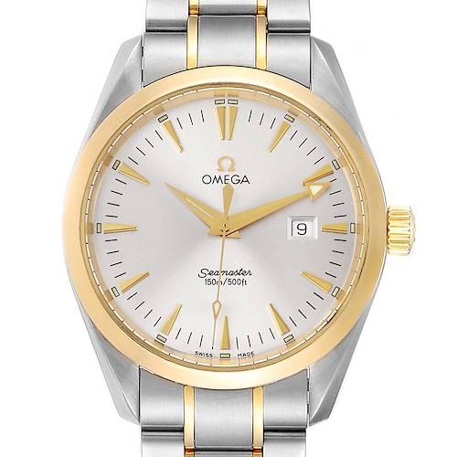 Photo of Omega Seamaster Aqua Terra 150M Steel Yellow Gold Watch 2317.30.00