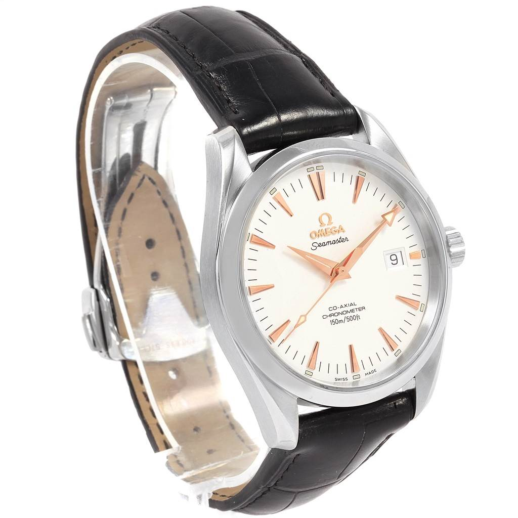 13947 Omega Seamaster Aqua Terra Mens Steel Watch 2503.34.00 SwissWatchExpo