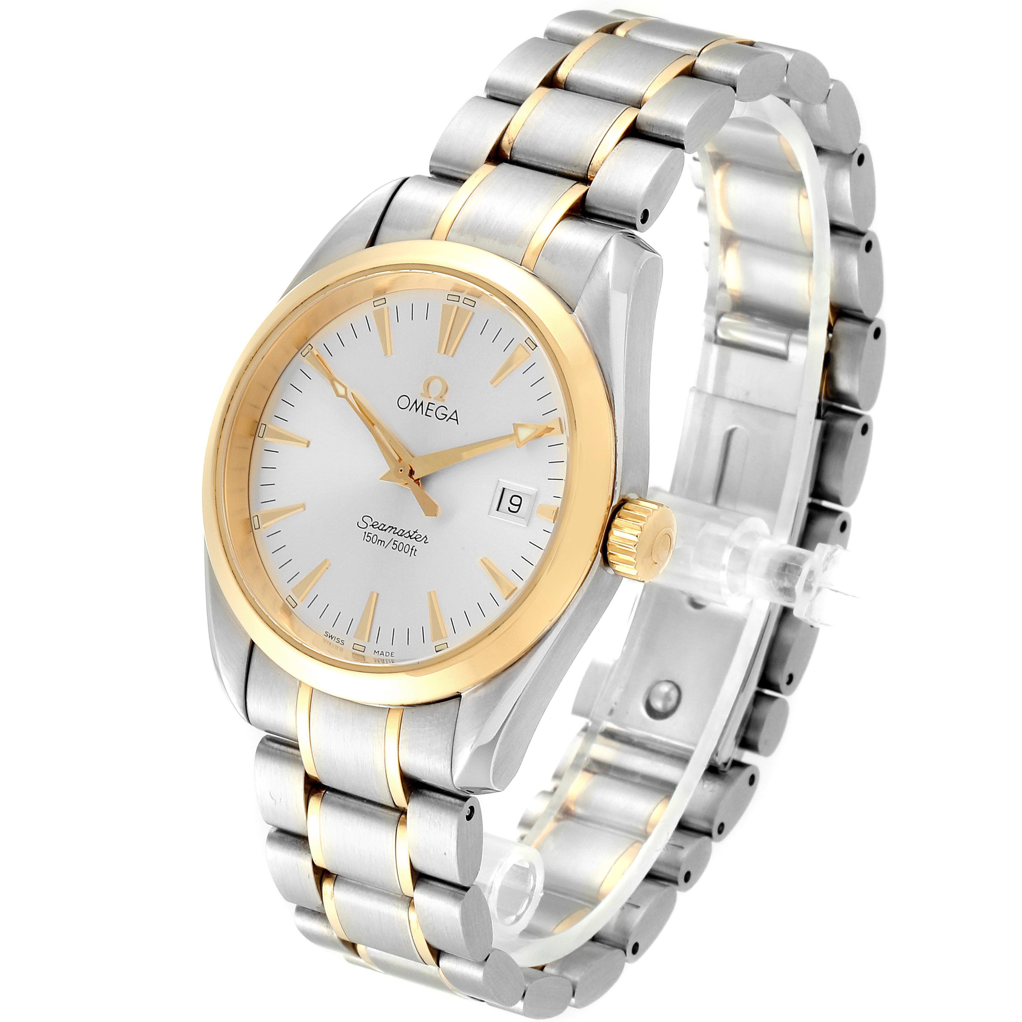 Omega Seamaster Aqua Terra 150M Steel Yellow Gold Watch 2317.30.00 SwissWatchExpo