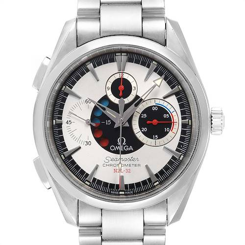 Photo of Omega Seamaster Aqua Terra NZL-32 Regatta Chronograph Watch 2513.30.00