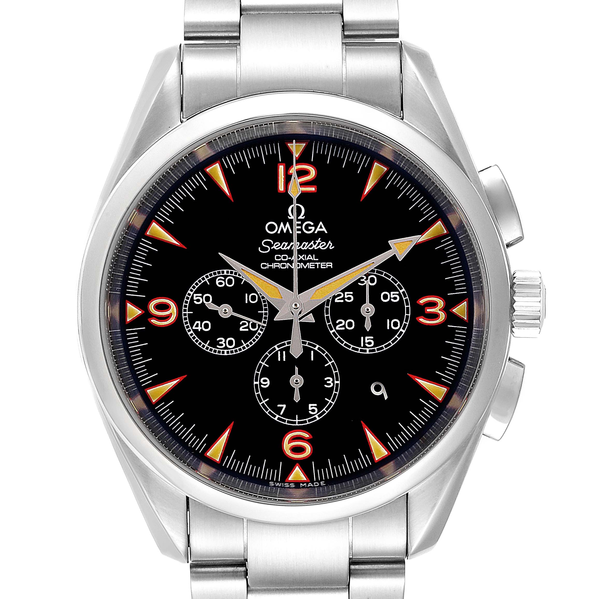 Omega Aqua Terra Railmaster China Explorer LE Watch 2512.54.00 Box Card