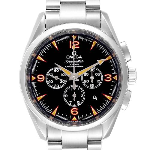 Photo of Omega Aqua Terra Railmaster Limited Edition Mens Watch 2512.54.00 Box Card