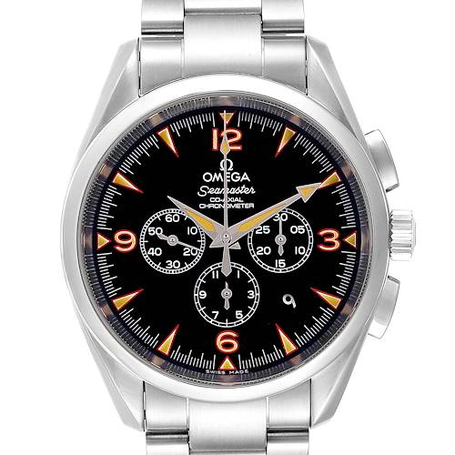 Photo of Omega Aqua Terra Railmaster China Explorer Limited Watch 2512.54.00 Box Card