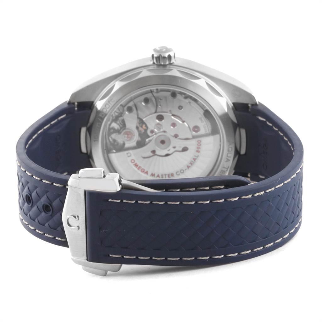 Omega Seamaster Aqua Terra Grey Dial Watch 220.12.41.21.06.001 Box Card SwissWatchExpo
