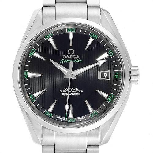 Photo of Omega Seamaster Aqua Terra Co-Axial Mens Watch 231.10.42.21.01.001 Box Card