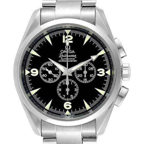 Photo of Omega Aqua Terra Railmaster Chronograph Steel Mens Watch 2512.52.00 Card