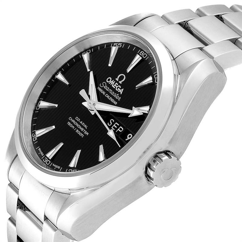 Omega Seamaster Aqua Terra 39 Annual Calendar Watch 231.10.39.22.01.001 SwissWatchExpo