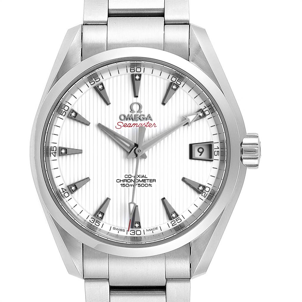 Photo of Omega Seamaster Aqua Terra 38.5 Diamond Watch 231.10.39.21.54.001