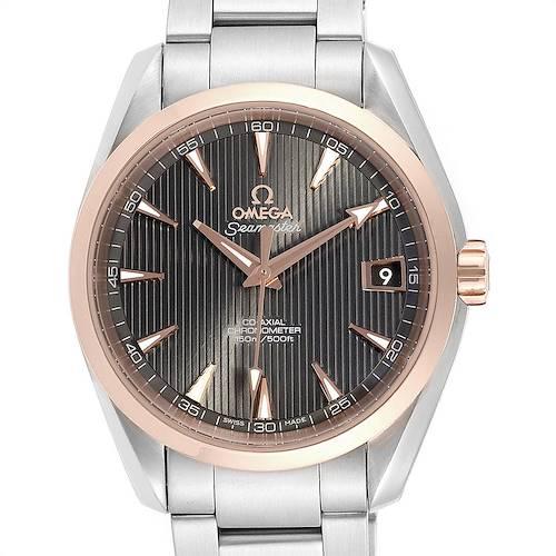 Photo of Omega Seamaster Aqua Terra Steel Rose Gold Watch 231.20.39.21.06.003