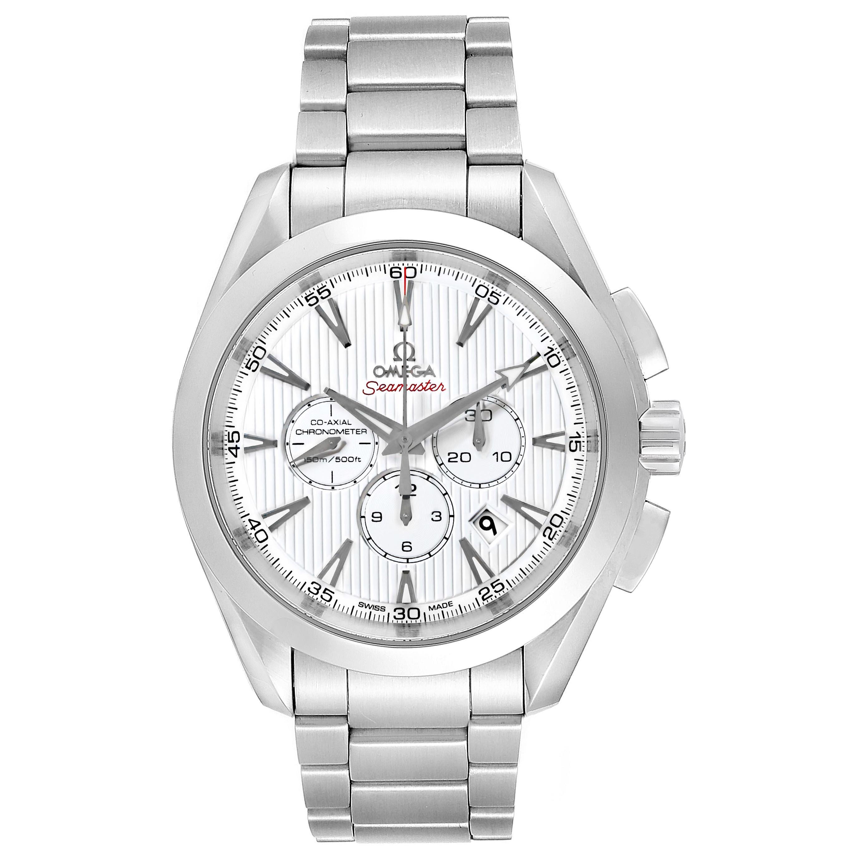 Omega Seamaster Aqua Terra Chrono Watch 231.10.44.50.04.001 SwissWatchExpo