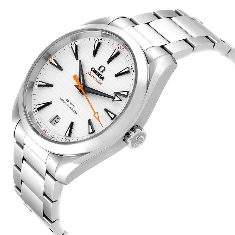 Omega Seamaster Aqua Terra Orange Hand Mens Watch 220.10.41.21.02.001 SwissWatchExpo