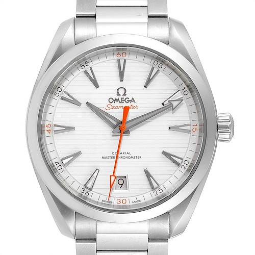 Photo of Omega Seamaster Aqua Terra Orange Hand Mens Watch 220.10.41.21.02.001