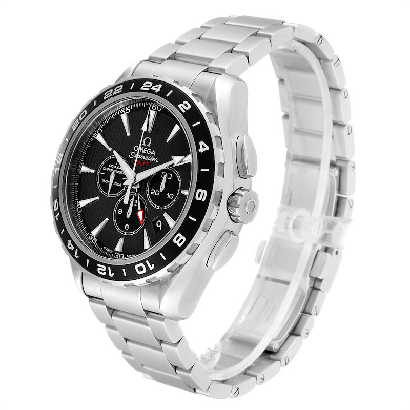 Omega Seamaster Aqua Terra GMT Watch 231.10.44.52.06.001 Box Card SwissWatchExpo