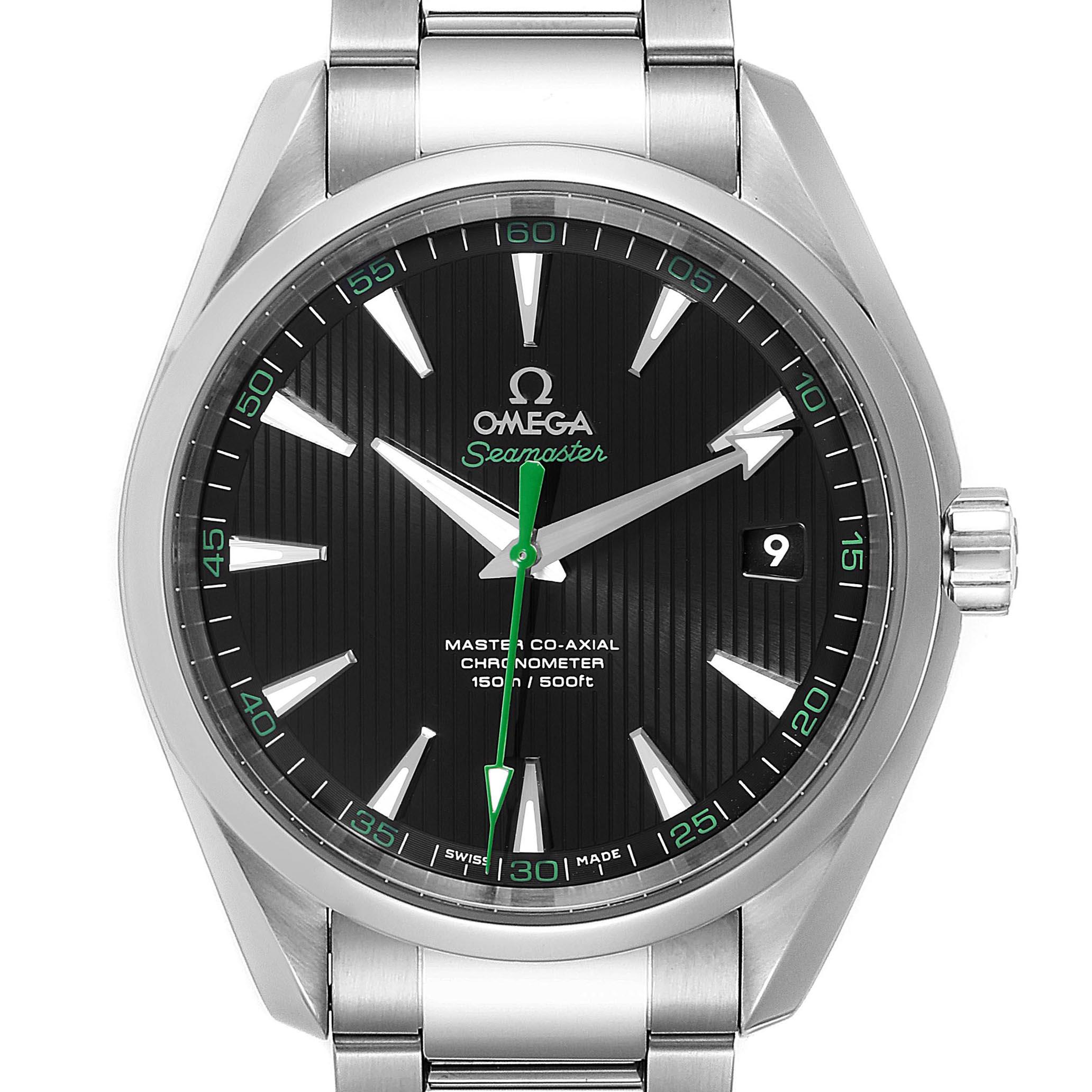 Omega Seamaster Aqua Terra Golf Edition Watch 231.10.42.21.01.004 Box Card SwissWatchExpo