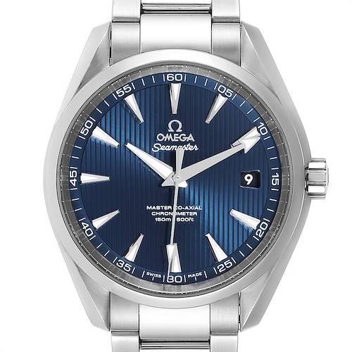 Photo of Omega Seamaster Aqua Terra Mens Watch 231.10.42.21.03.003 Card