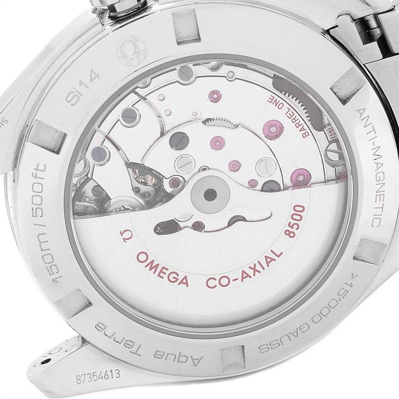 Omega Seamaster Aqua Terra Mens Watch 231.10.42.21.03.003 Box SwissWatchExpo