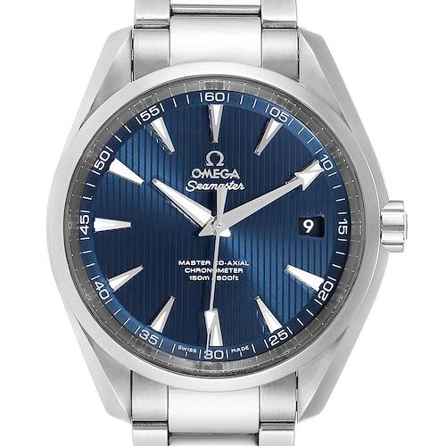 Photo of Omega Seamaster Aqua Terra Mens Watch 231.10.42.21.03.003 Box