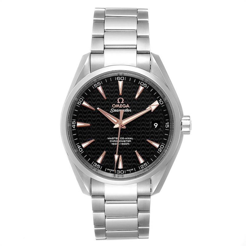 Omega Seamaster Aqua Terra Anti Magnetic Watch 231.10.42.21.01.006 Box Card SwissWatchExpo