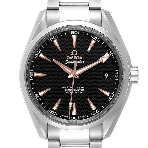 Photo of Omega Seamaster Aqua Terra Anti Magnetic Watch 231.10.42.21.01.006 Box Card