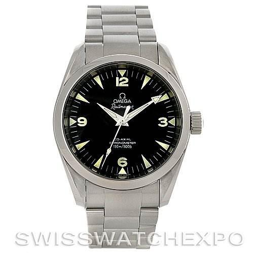 4173 Omega Aqua Terra Railmaster Automatic Mens Watch 2504.52 SwissWatchExpo