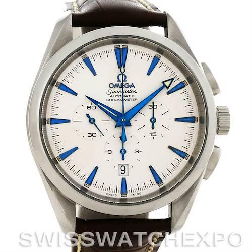 Photo of Omega Seamaster Aqua Terra XL Automatic Chronograph Watch 2812.30.37