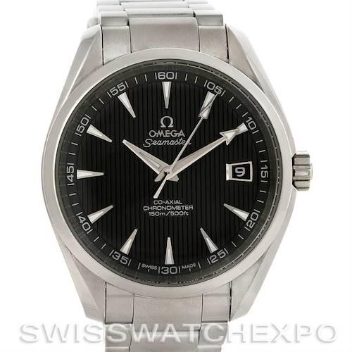 Photo of Omega Seamaster Aqua Terra Mens Steel Watch 231.10.42.21.06.001