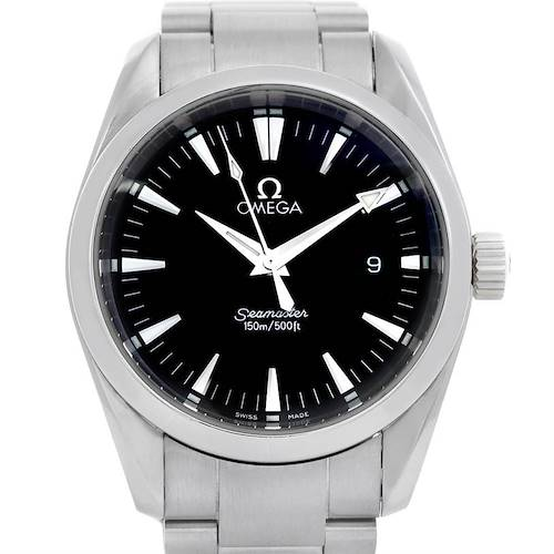 Photo of Omega Seamaster Aqua Terra Mens Steel Watch 2518.50.00