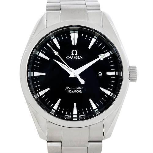 Photo of Omega Seamaster Aqua Terra Mens Large Steel Watch 2517.50.00