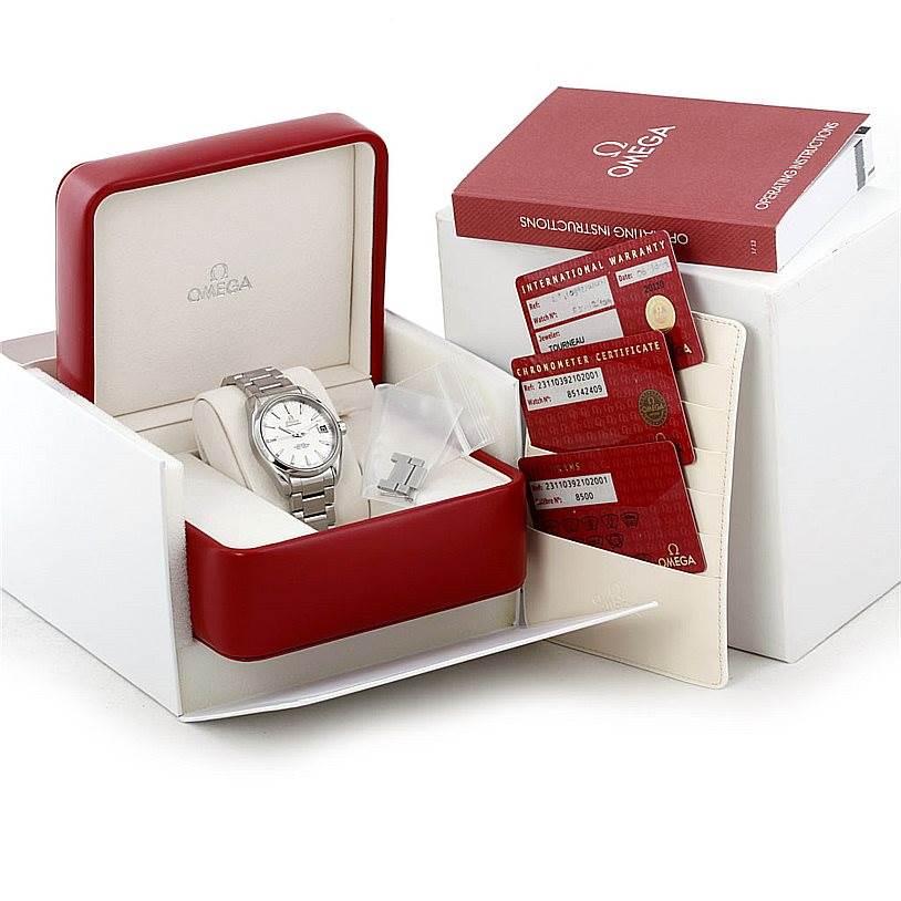7147 Omega Seamaster Aqua Terra Mens Steel Watch 231.10.39.21.02.001 SwissWatchExpo