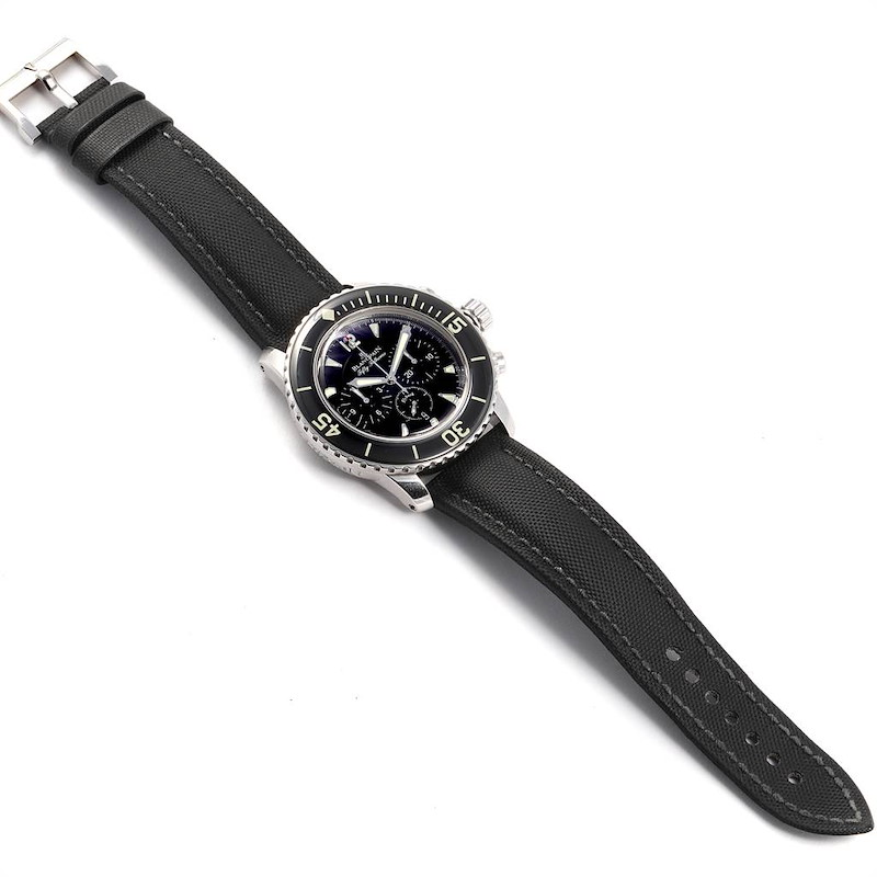 Blancpain Fifty Fathoms Flyback Flyback Chronograph Mens Watch 5085F SwissWatchExpo