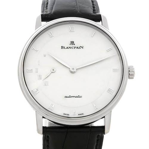 Photo of Blancpain Villeret Ultra Slim 40mm White Gold Watch 4040-1542-55