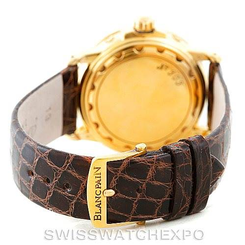 6700P Blancpain 18K Yellow Gold Complete Calendar Watch 2763-1418A-53 SwissWatchExpo